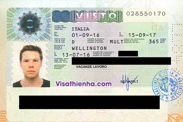 Dịch vụ làm visa đi Ý tại TPHCM
