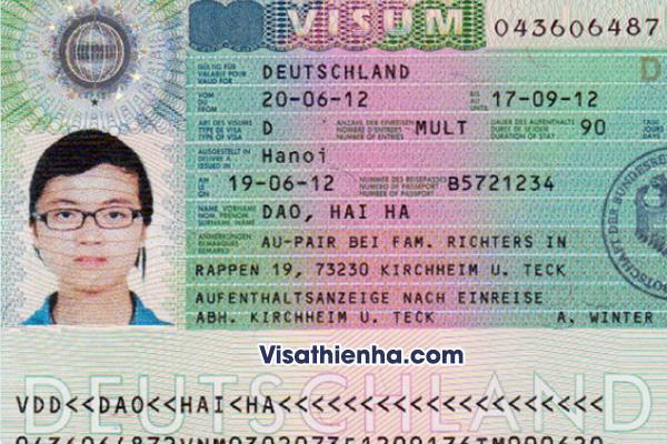 Dịch vụ làm visa đi Đức tại TP.HCM