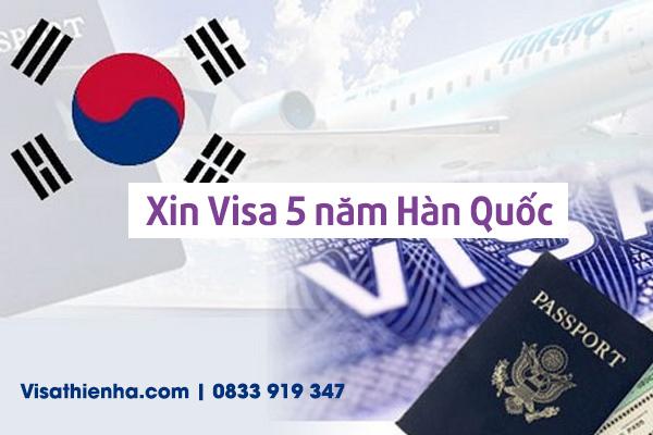 Xin Visa 5 năm Hàn Quốc tại TPHCM