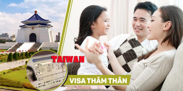 Thời gian xin visa thăm thân Đài Loan được bao lâu?