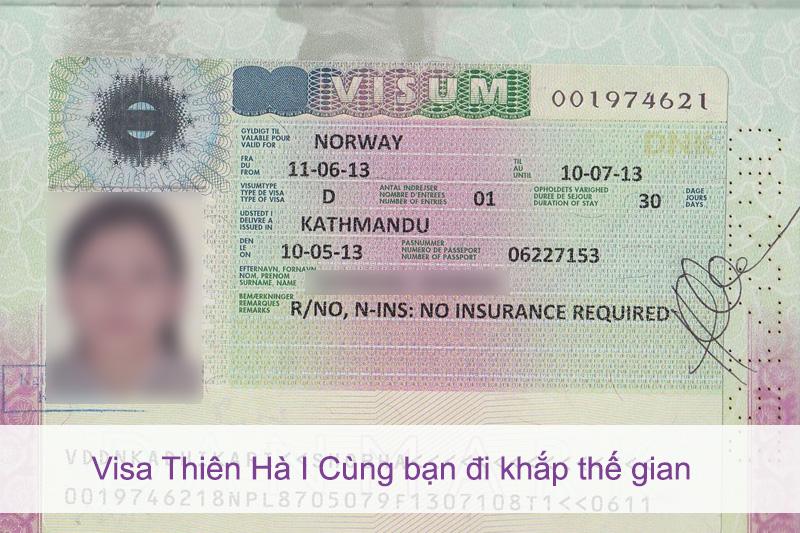 Dịch vụ xin visa đi Nauy tại TP.HCM