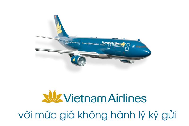 Bay cùng VIETNAM AIRLINES với mức giá không hành lý ký gửi