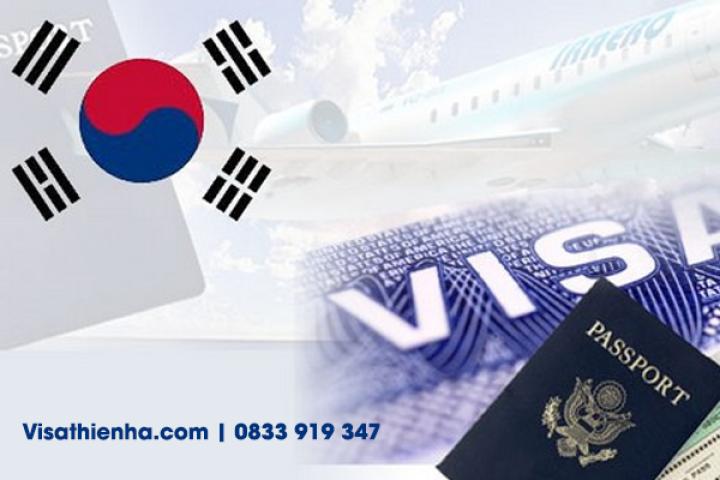Dịch vụ visa Hàn Quốc giá rẻ tại Visa Thiên Hà